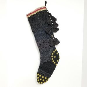Victorian Lace Christmas Stocking New